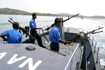 Sri Lanka Navy Boat