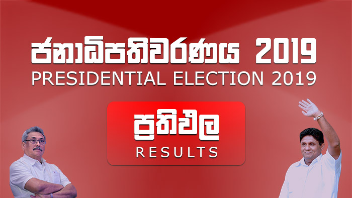 Results of Sri Lanka Presidential Election 2019