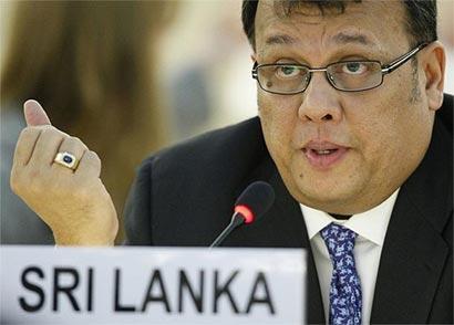 Mahinda Samarasinghe UNHRC