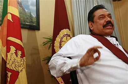 President Mahinda Rajapaksa in an Interview