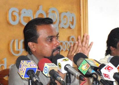 Wimal Weerawansa Press Conference