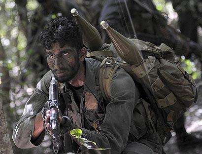 Army training in Sri Lanka