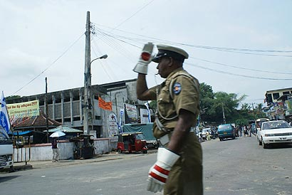 Sri Lanka Traffic Police