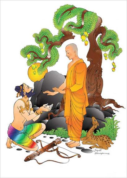 Poson Poya day