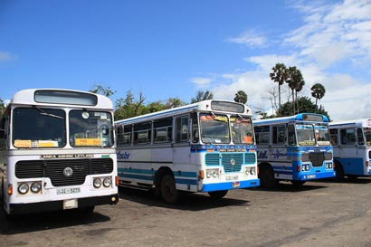 Sri Lanka Bus Strike