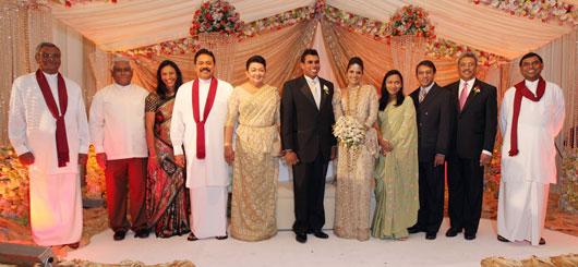 Wedding bells ring to Daminda, Defence Secretary Gotabaya ...