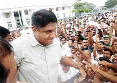 Sajith Premadasa: Latest News, Videos and Photos of Sajith ...