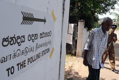 Sri Lanka Polling Station