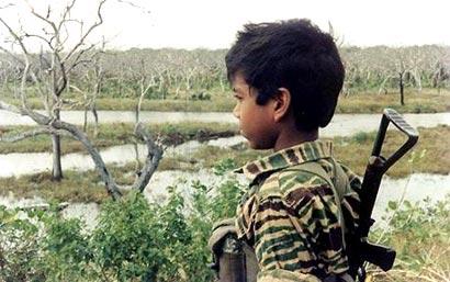 LTTE Child Soldier