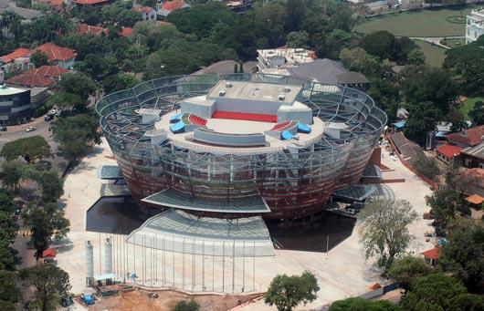 President Launches Nelum Pokuna Theatre Website Latest