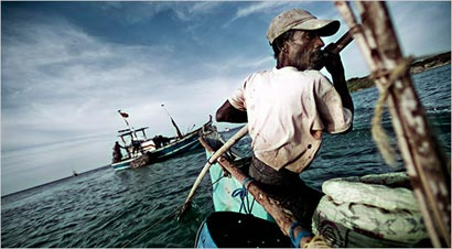 Lanka fishermen