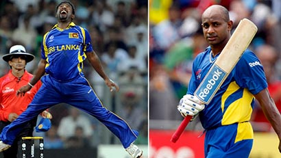 Sanath Jayasuriya and Muralitharan