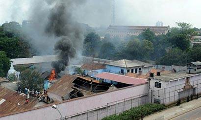 welikada prison fire