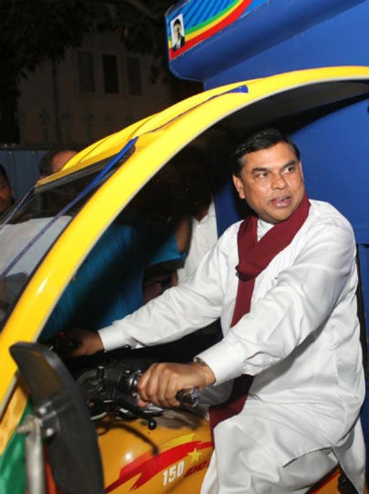 Basil Rajapaksa t-trucks to self employees
