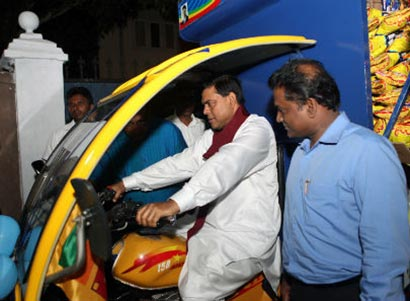 Basil Rajapaksa t-trucks to self employees