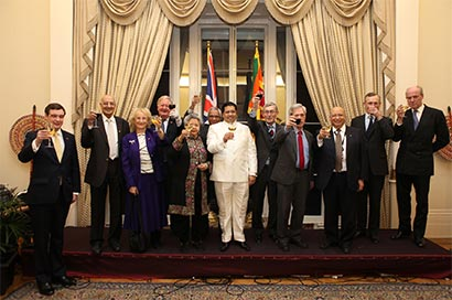 High Commisioner Dr. Chris Nonis in Sri Lanka independence day reception toast London