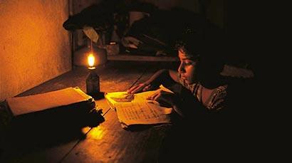 Kerosene lamp in Sri Lanka