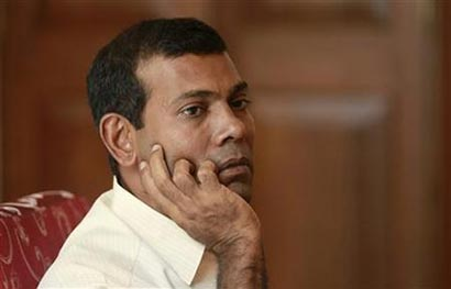 Maldivian President Mohammed Nasheed resign