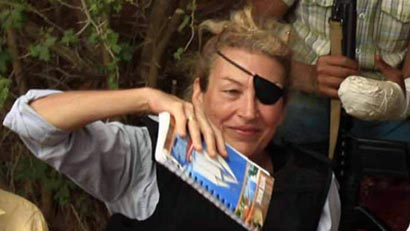 Marie Colvin dead in Syria - was a war news reporter in Sri Lanka