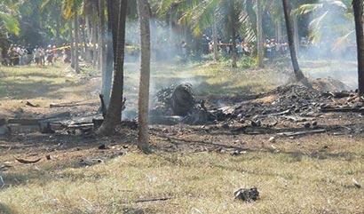 mig 27 crash Dummalasuriya Sri Lanka Air Force