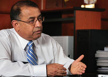 Treasury Secretary Dr. P.B.Jayasundera