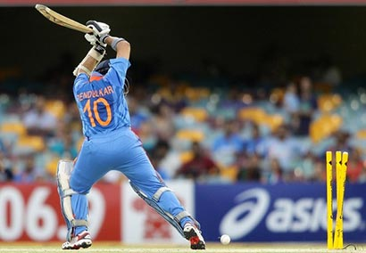 Tendulkas wicket vs Sri Lanka