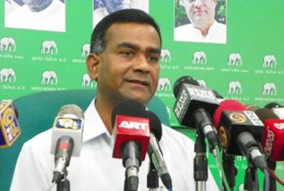 Thissa Attanayake UNP Sri Lanka