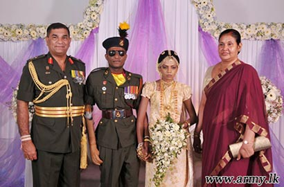 Sri Lanka Army - abimansala war hero wedding