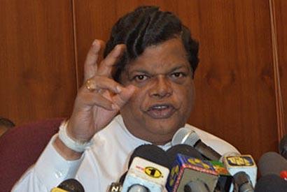 Minister Bandula Gunawardena