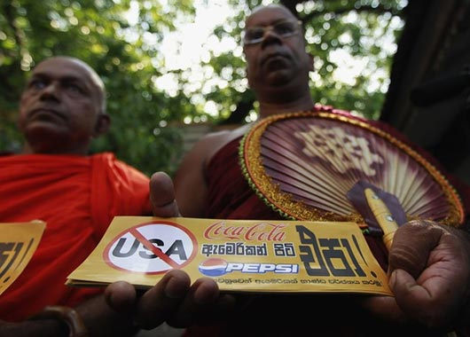 Call to boycott US goods in Sri Lanka