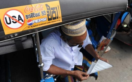 Call to boycott US goods in Sri Lanka