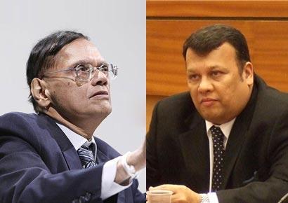 g.l.peris and Mahinda Samarasinghe
