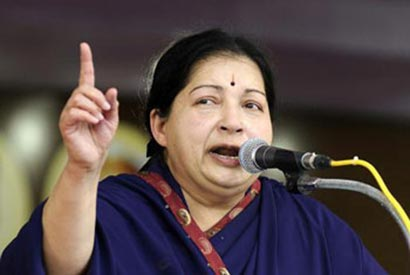 Jayalalithaa wants economic sanctions against Sri Lanka