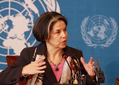 Maria Otero on Sri Lanka issue