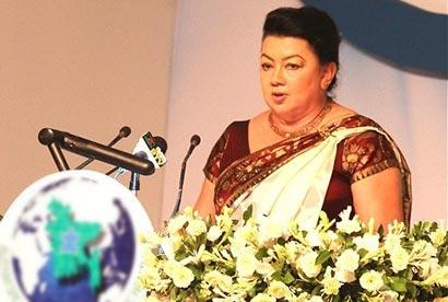 Sri Lanka first lady Shiranthi Rajapaksa