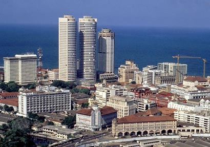 Colombo city Sri Lanka