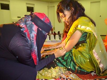 Farhath Haadhy Queen of Mehendi in Sri Lanka
