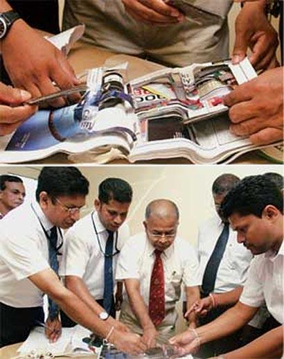 hashish case Anjela - Sri Lanka