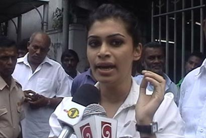 Hirunika Premachandra death threat