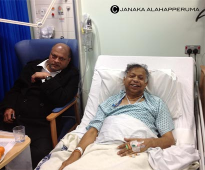 Dr. Jayalath Jayawardena at London Hospital