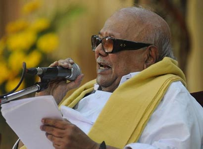 Karunanidhi on Lanka issues