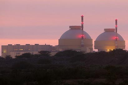 Kudankulam nuclear power plant in India