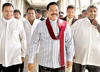 Sri Lanka President Rajapaksa returns from South Korea