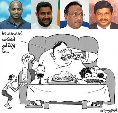 Sanath Jayasuriya and Nishantha Muthuhettigama want Ministerial posts