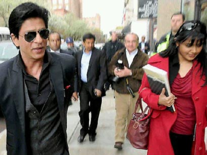 Shahrukh Khan detained at a New York Airport