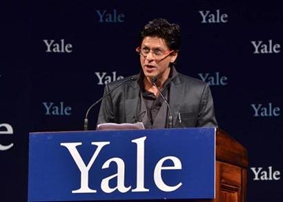 Shahrukh Khan Yale