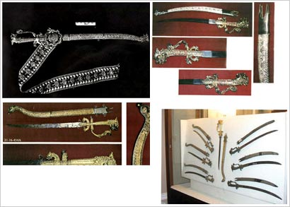 Some stolen items in National museum Sri Lanka