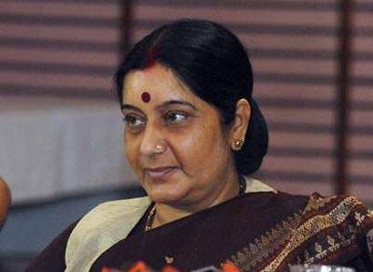 Sushma Swaraj Lanka Visit