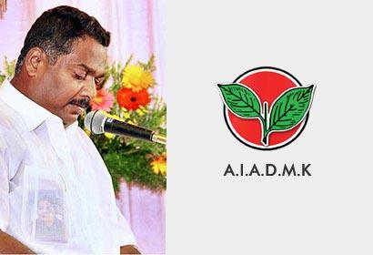 AIADMK candidate Karthik Thondaiman