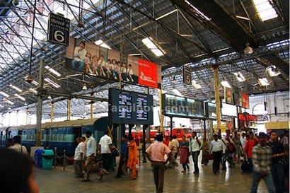 Chennai central main hall railway station
